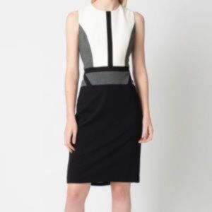Judith & Charles Colour Block sleeveless Dress